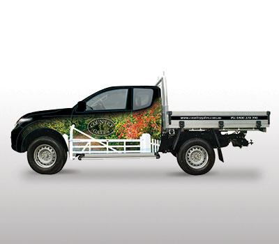 Country Gates Vehicle Wraps