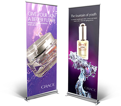 Grace Cosmetic Bannerss